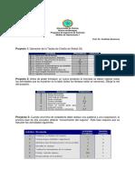 Ejercicios Propuestos PERT CPM
