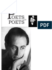 « Stanley Kunitz on Paul Celan and the Poetry of the Holocaust »