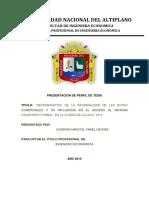 CARATULA DE BORRADOR DE TESIS_UNA PUNO