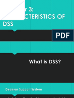 Chapter 3 - Characteristics of DSS
