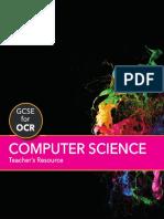 GCSE Computer Science for OCR Teachers Resource