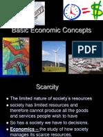 Basic Economic Concepts