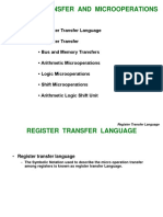 2) RegisterTransfer