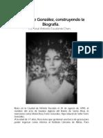 Rosa Torre González, construyendo la biografía