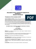 FED RTTMRP Reglamento Transporte Terrestre Materiales y Residuos.pdf