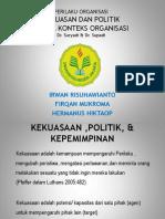 Kekuasaan Dan Politik PPT