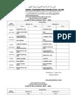 Daftar Pengawas UAMBN 2016