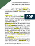 Tema 4 - Las Grandes Guerras Del s XX en Europa, Sus Efectos Territoriales