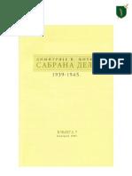 Сабрана дела Димитрија В. Љотића - Том VII