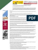 Sealants in Concrete Pavements, Roads, Highways & Building Construction