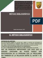 Cuarta Clase Metodo Bibliografico