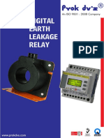 Earth Leakage Relay Digital