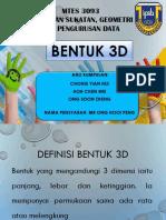 6. Pengajaran Geometri- Bentuk 3D