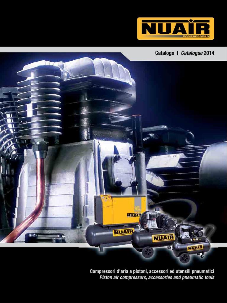 Compressore a cinghia bicilindrico elettrico trifase Nuair B 3800B//4T//270 4 HP