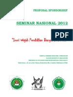 Cover Proposal Sponsorship Seminar
