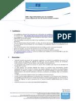 Page d Information Fr