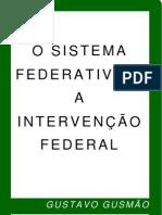 00366 - O Sistema Federativo e a Interveno Federal