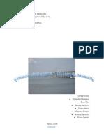 Formación de la cuenca y del Lago de Maracaibo