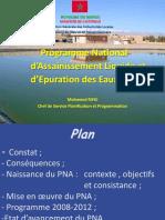 Maroc Programme National Assainissement Liquide Epuration Eaux Usees Fr