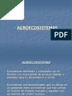 AGROECOLOGIA 3 - AGROECOSISTEMAS