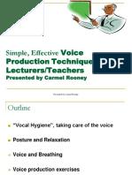 Voice Workshop
