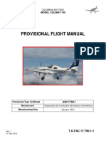 Provisional Flight Manual