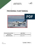 Provisional Flight Manual