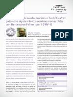 Caso Clnico FortiFlora Herpesvirus Felino