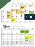 Master Plan Convofest 2016