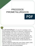 Pirometalurgia Minas