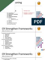 CR Framework Applications - Strengthens