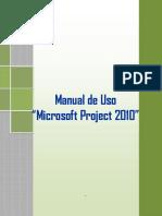 Manual Uso Project 2010 Cip