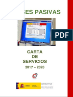 Carta de Servicios de Clases Pasivas 2017-2020
