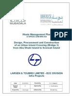 Lt Gp&Oc Uae Ehs 028 Rev 0 Waste Management Plan