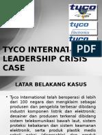 TYCO INTERNATIONAL LEADERSHIP CRISIS CASE
