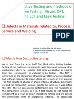 NDT and NDT Methods