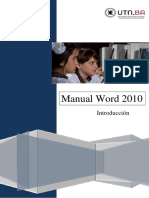 01 Utn Frba Word 2010 Introduccion