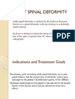 Adult Spinal Deformity Power Point