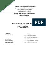 Informe Factividad Economica y Financiera