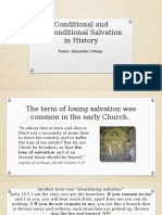 Conditional and Unconditional Salvation in History