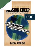 Mission Creep - Larry Osborne