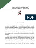 Durkheim  - Metodologia