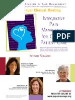 Am Acad Pain Management 2009 Brochure