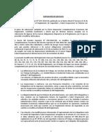 Decreto Supremo que modifica diversos artículos y anexos del Reglamento de Seguridad y Salud Ocupacional en Minería aprobado por D.S. N° 024 2016 EM