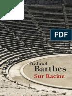 BARTHES, Roland -  Sur Racine.epub