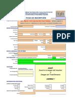 Ficha de Inscripción - Modelamiento Hidrológico e Hidráulico Aplicado a Obras Hidráulicas