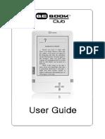 BeBook Club User Manual Dutch