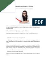 Estrategias Para La Prueba Saber (16 Copias)