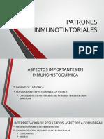 Patrones Inmunotintoriales