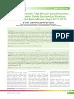 05_249Faktor Risiko Penyakit Tidak Menular Pada Responden Terindikasi Strok